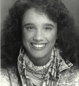 What I won't do for my readers! Yep, that's me, circa 1988!