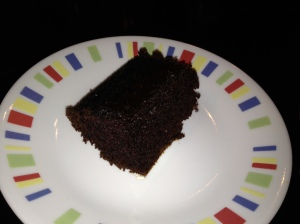 Moist, chocolately, Black Magic Cake, made from scratch
