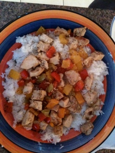 Sweet and Sour Chicken – took a long time to prepare but it was insanely delicious!
