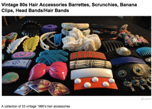 Aside from scrunchies, which are great when you're cleaning or sleeping, most of these things should have been destroyed a long, long, time ago.