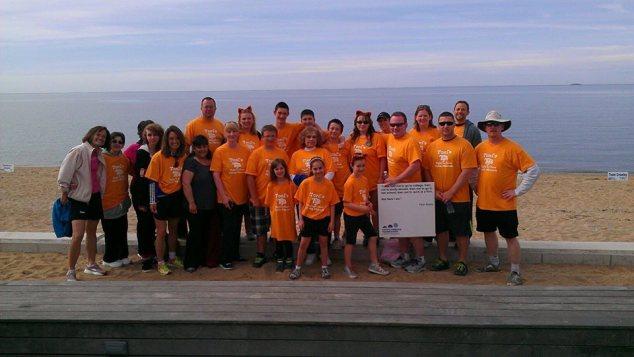 2013 Great Strides team raised $2400.00