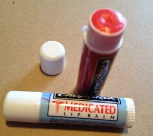 Old, reliable Chapstick.