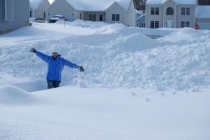 Snow, snow, and more snow! January, 2011.