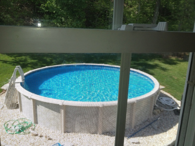 Only another 8 weeks or so before we open the pool!