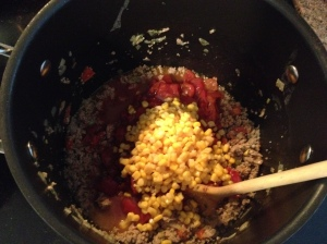 Stir to mix ingredients evenly.