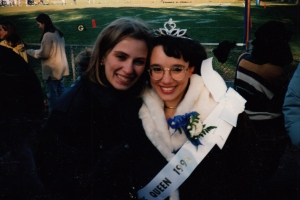 Lisa and me at Homecoming.