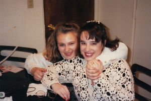 Lisa and me.