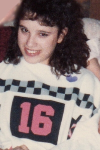 "Yes, my shirt said ""16"". I had a unique fashion style."